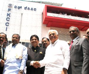 : Bengaluru: Siddaramiah inaugurates entenary Building of FKCCI