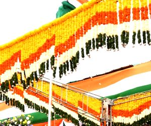 BS Yediyurappa during 74th Independence Day celebrations at Manekshaw Parade Grounds