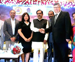 Karnataka Deputy Chief Minister G. Parameshwara, Bengaluru Mayor R. Sampath Raj, Bengaluru Deputy Mayor G Padmavathi, London Deputy Mayor for Environment and Energy Shirley Rodrigues, ...
