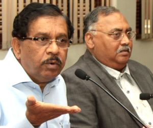 Karnataka Minister Parameshwara's press conference