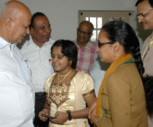 S.R. Patil inaugurates computer centre for visually challenged