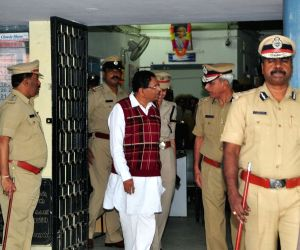Karnataka Minister's surprise visit to Madiwala Police Station