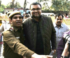 Karti Chidambaram files nomination from Sivaganga