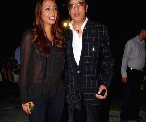 """Kashmira Shah at """"Yeh Sunday Kyun Aata Hai"""" film music launch at Raheja Classic."""