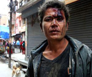 NEPAL KATHMANDU MASSIVE EARTHQUAKE