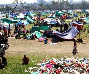 NEPAL KATHMANDU EARTHQUAKE AFTERMATH