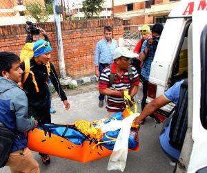 NEPAL-KATHMANDU-DEATH OF SWISS CLIMBER-DEAD BODY ARRIVAL