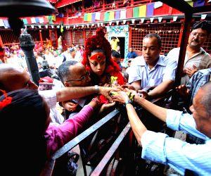 Nepalese Living Goddess Kumari