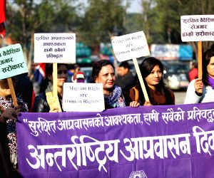 NEPAL-KATHMANDU-INTERNATIONAL MIGRANTS DAY