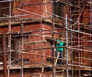 NEPAL KATHMANDU RECONSTRUCTION