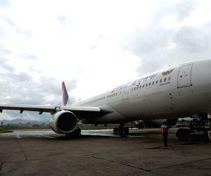 NEPAL KATHMANDU AIRCRAFT  ARRIVAL