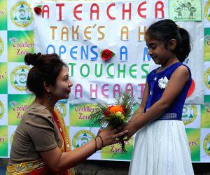 NEPAL KATHMANDU TEACHERS' DAY CELEBRATION