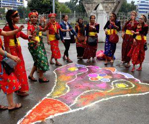 NEPAL KATHMANDU RATH YATRA PROCESSION