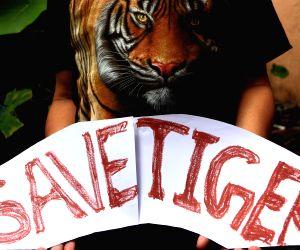 NEPAL-KATHMANDU-INTERNATIONAL TIGER DAY