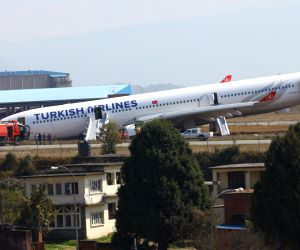 NEPAL KATHMANDU TURKISH AIRLINES PLANE CRASHES