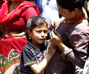 NEPAL KATHMANDU EARTHQUAKE