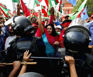 NEPAL-KATHMANDU-PROTEST RALLY-MADHESH BASED PARTIES