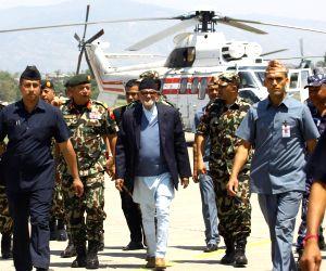 NEPAL KATHMANDU EARTHQUAKE PM VISIT