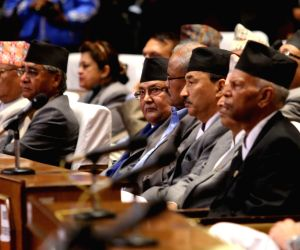 NEPAL-KATHMANDU-PRESIDENT-GOVERNMENT ANNUAL POLICY AND PROGRAMME