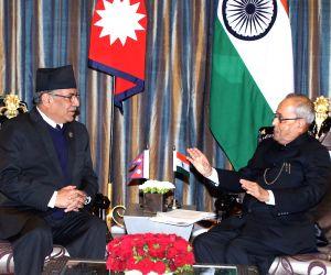 NEPAL KATHMANDU INDIAN PRESIDENT VISIT