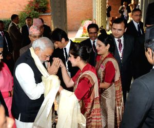 Kathmandu (Nepal): PM Modi arrives in Nepal