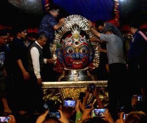 NEPAL-KATHMANDU-FESTIVAL-INDRAJATRA