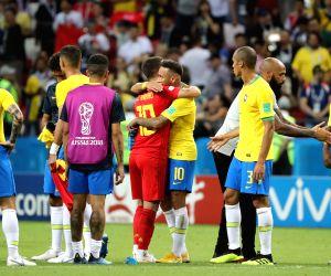 RUSSIA-KAZAN-2018 WORLD CUP-QUARTERFINAL-BRAZIL VS BELGIUM