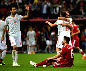 FIFA World Cup: Scrappy Spain ride Costa goal to down gritty Iran 1-0