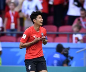 South Korea striker Son signs new deal with Tottenham