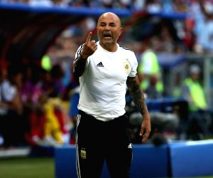 Argentine football federation, coach Sampaoli part ways