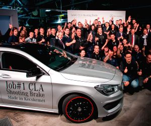 HUNGARY KECSKEMET MERCEDES BENZ CLA SHOOTING BRAKE