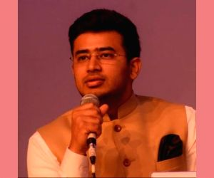 BJP names 'young turk' Tejaswi Surya for Bangalore South