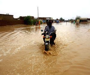 SUDAN KHARTOUM HEAVY RAIN