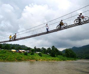 Ukiam (Assam): Bridge connecting Assam-Meghalaya