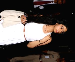 Khushi Kapoor spotted at airport