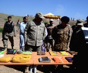 PAKISTAN KHYBER AGENCY DRUGS DESTRUCTION