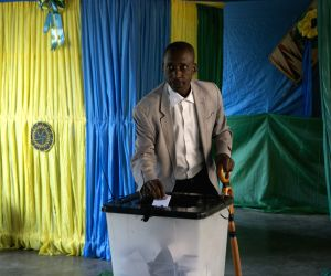 RWANDA KIGALI PRESIDENTIAL ELECTIONS