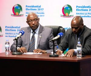 RWANDA KIGALI PRESIDENTIAL ELECTIONS PROVISIONAL RESULTS