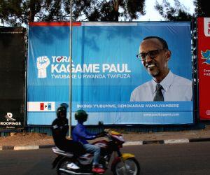 RWANDA KIGALI PRESIDENTIAL ELECTION CAMPAIGN
