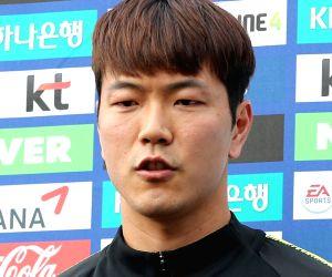 S. Korea prepare for World Cup finals in Russia