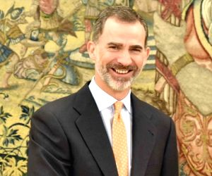 File Photo: King of Spain Felipe VI