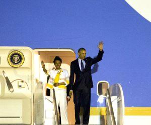 JAMAICA KINGSTON US POLITICS OBAMA