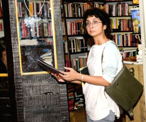 Kiran Rao, wife of actor Aamir Khan seen outside a theatre, in Mumbai's Juhu, on May 23, 2019.