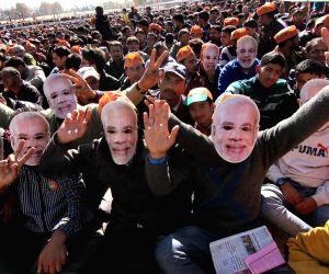PM Modi addresses a rally in J&K