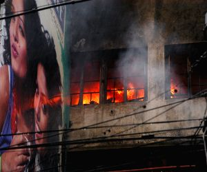 Fire at Kolkata shopping mall