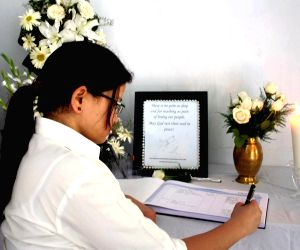 Condolence message for Nepal earthquake victims