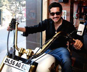 Parambrata Chatterjee at Bikers Cafe