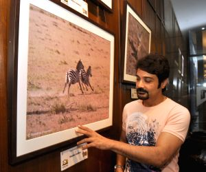 Prasenjit Chatterjee during a photo exhibition