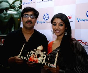 Actors Kaushik Sen and Paoli Dam during a programme
