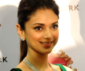 Aditi Rao Hydari during a program